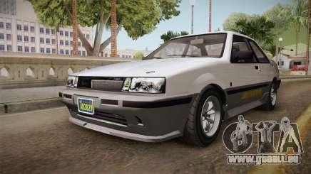 GTA 5 Karin Futo 4-doors für GTA San Andreas