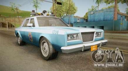 Driver Parallel Lines Zartex Police (LS) pour GTA San Andreas
