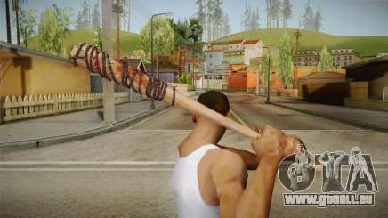 Lucille Negan Baseball Bat The Walking Dead für GTA San Andreas