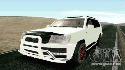 Toyota Land Cruiser 100 2017 für GTA San Andreas