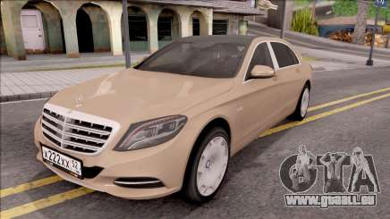 Mercedes-Maybach S600 für GTA San Andreas