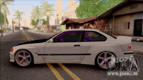 BMW M3 E36 Drift Rocket Bunny v4 pour GTA San Andreas laissé vue