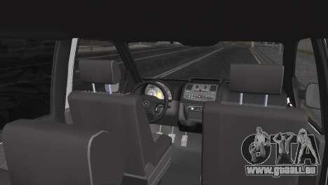 Mercedes Vito pour GTA San Andreas sur la vue arrière gauche