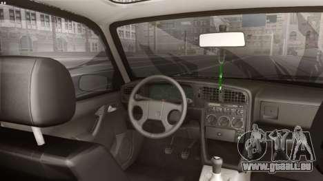 Volkswagen Passat Stanceworks für GTA San Andreas zurück linke Ansicht
