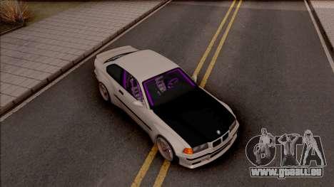 BMW M3 E36 Drift Rocket Bunny v4 pour GTA San Andreas vue de droite