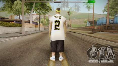 New Vagos Skin v2 pour GTA San Andreas troisième écran