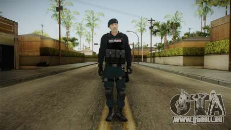 Turkish Police-Rapid Response Unit Member für GTA San Andreas zweiten Screenshot