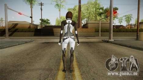 Mass Effect 3 Miranda Short Hair pour GTA San Andreas troisième écran