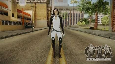 Mass Effect 3 Miranda Short Hair pour GTA San Andreas deuxième écran
