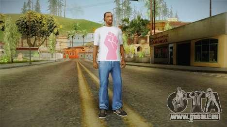 GTA 5 Special T-Shirt v19 pour GTA San Andreas