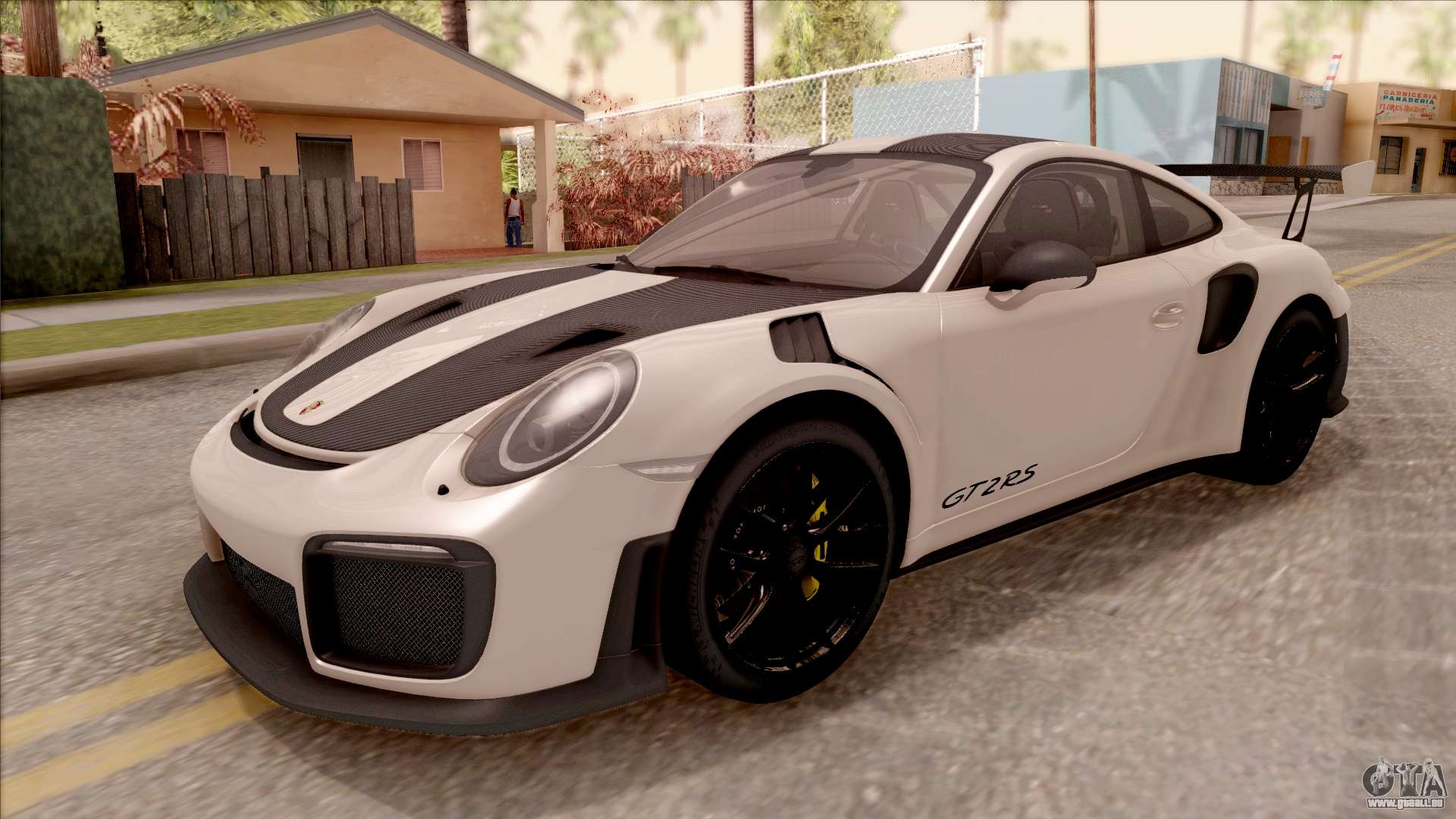 porsche 911 gt2 rs weissach package sa plate f r gta san andreas. Black Bedroom Furniture Sets. Home Design Ideas
