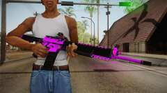 Purple M4A1 pour GTA San Andreas