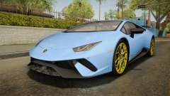 Lamborghini Huracan Performante LP640-4 2017 v2 pour GTA San Andreas
