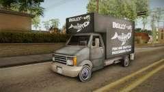 GTA SA DLC - Triad Fish Van für GTA San Andreas