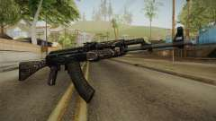 CS: GO AK-47 Black Laminate Skin pour GTA San Andreas