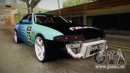 Nissan Skyline R33 Drift Falken für GTA San Andreas