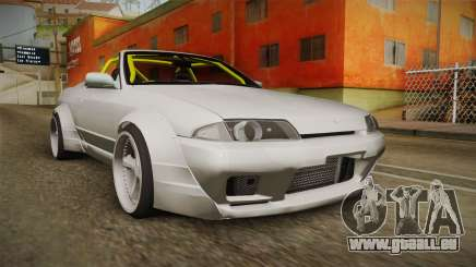 Nissan Skyline R32 Cabrio Drift Rocket Bunny v1 für GTA San Andreas