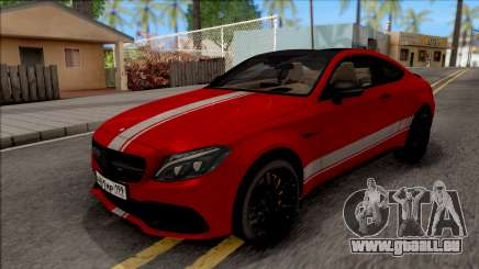 Mercedes-Benz C63S AMG Coupe für GTA San Andreas