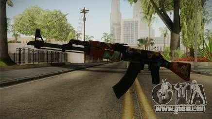 CS: GO AK-47 Jet Set Skin für GTA San Andreas