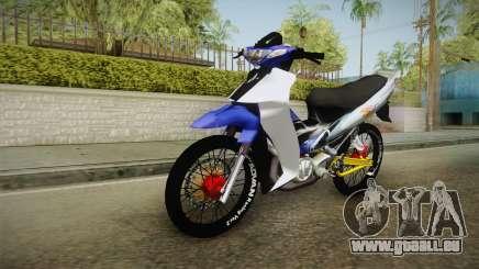 Yamaha 125Z Alloy Black pour GTA San Andreas