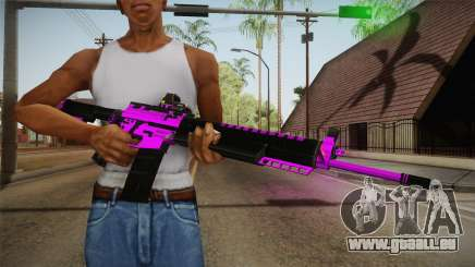 Purple M4A1 für GTA San Andreas