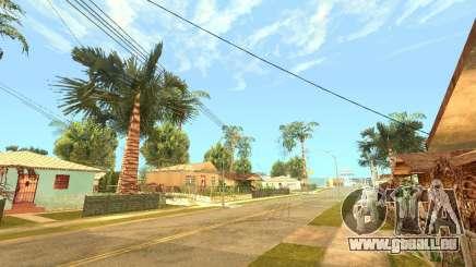 Nouveau plus réaliste Timecycle par Luke126 pour GTA San Andreas