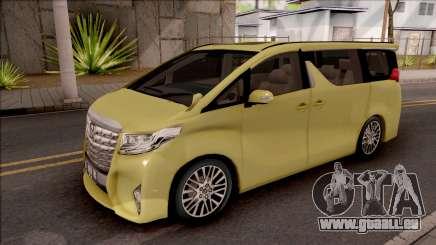 Toyota Alphard 2.5 G 2015 pour GTA San Andreas