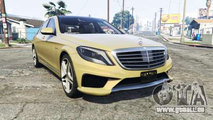 Mercedes-Benz S63 yellow brake caliper [replace] pour GTA 5