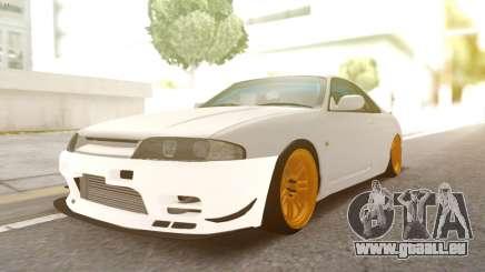 Nissan R33 Drift für GTA San Andreas