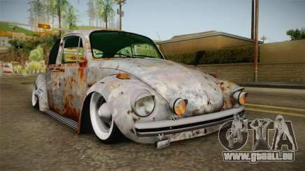 Volkswagen Beetle Rusty für GTA San Andreas