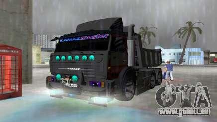 KAMAZ 65115 NUIT NOIRE pour GTA Vice City
