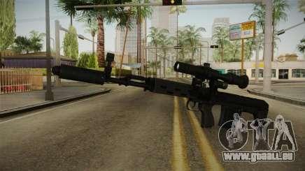 Die Waffe der Freiheit v2 für GTA San Andreas