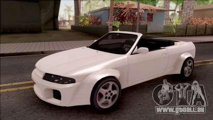 Nissan Skyline R33 Cabrio Tuned pour GTA San Andreas