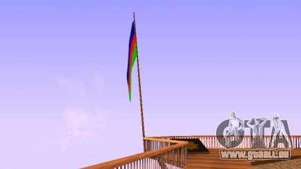 Azerbaijan Flag on Mount Chiliad pour GTA San Andreas