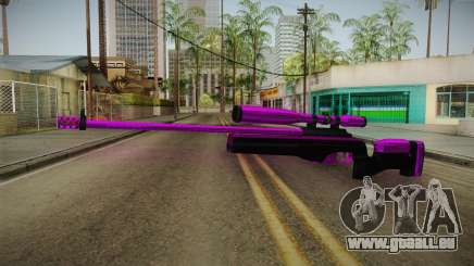 Purple Sniper Rifle für GTA San Andreas