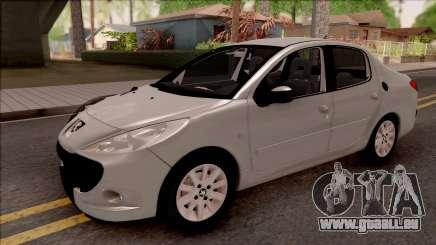 Peugeot 207 Passion pour GTA San Andreas