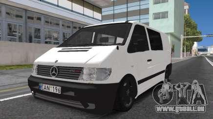 Mercedes Vito pour GTA San Andreas
