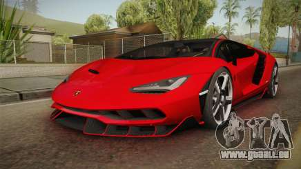 Lamborghini Centenario LP770-4 v2 pour GTA San Andreas
