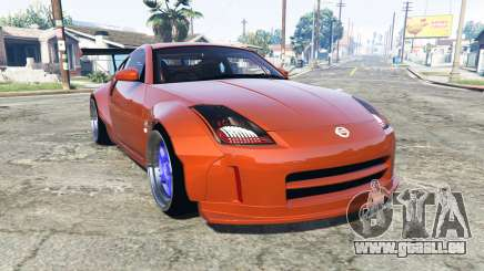 Nissan 350Z (Z33) stardast [add-on] für GTA 5
