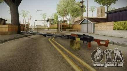 PKM Light Machine Gun für GTA San Andreas