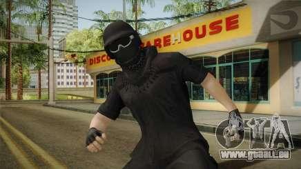 GTA Online: Black Army Skin v1 für GTA San Andreas