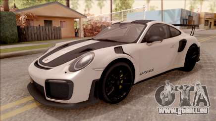 Porsche 911 GT2 RS Weissach Package SA Plate pour GTA San Andreas
