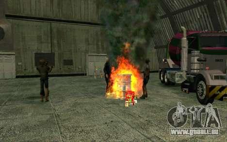 Partie des sans-abri pour GTA San Andreas quatrième écran