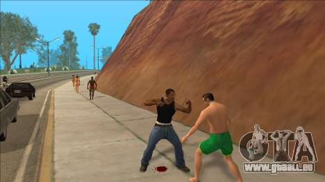 New Animations v4 Rapper Style Update pour GTA San Andreas