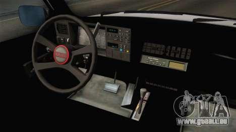 GMC Sierra 1500 1988 für GTA San Andreas Innenansicht