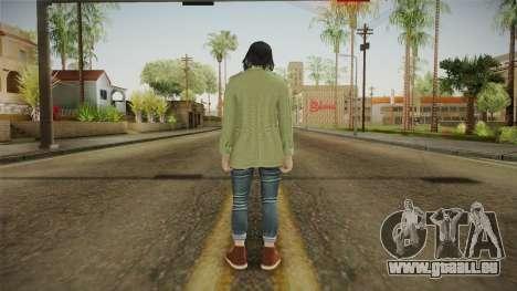 Smuggler Run DLC Skin 2 pour GTA San Andreas troisième écran