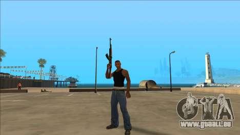 New Animations v4 Rapper Style Update pour GTA San Andreas troisième écran