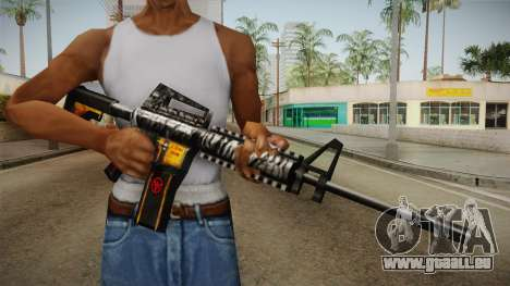 SFPH Playpark - Immortal M4A1 pour GTA San Andreas troisième écran