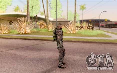 S. T. A. L. K. E. R. Zoulou pour GTA San Andreas troisième écran