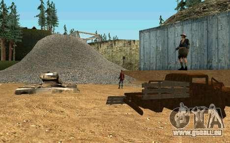 Partie des sans-abri pour GTA San Andreas cinquième écran